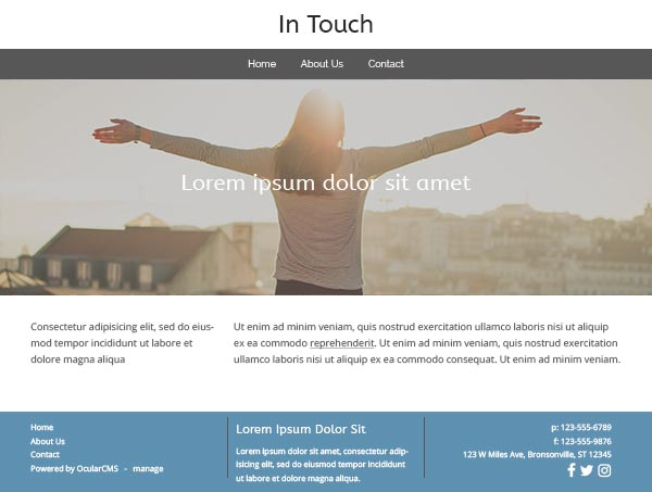 In Touch: default